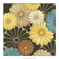 "Floral Confetti I by June Erica Vess - 18"" x 18"""