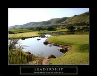 Leadership-Golf Fine Art Print