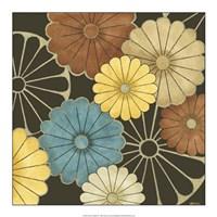 "Floral Confetti II by June Erica Vess - 18"" x 18"""