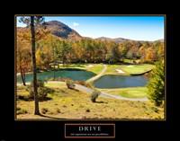Drive-Golf Fine Art Print