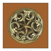 Graphic Medallion III Fine Art Print