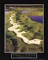 """Challenge-Golf II by Linda Stubbs - 8"""" x 10"""""""