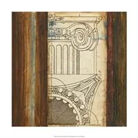 Architectural Archive II Fine Art Print