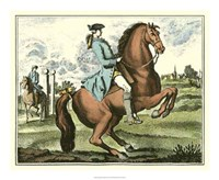 "Equestrian Training III by Denis Diderot - 22"" x 18"""