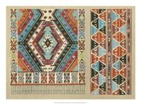 "Turkish Carpet Design by Janet Waring - 24"" x 18"", FulcrumGallery.com brand"