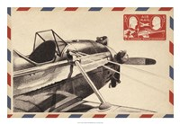 "Vintage Airmail I by Ethan Harper - 26"" x 18"""