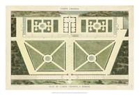 Plan du Casino Colonna, A Marino Fine Art Print