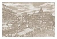 "Impressions of Milan I by Alicia Ludwig - 26"" x 18"""