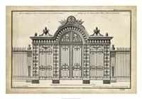 Neufforge Gate III Fine Art Print