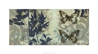 """Butterfly Reverie II by Jennifer Goldberger - 32"""" x 18"""""""