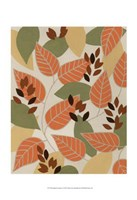 "Tangerine Autumn I by Vanna Lam - 13"" x 19"""