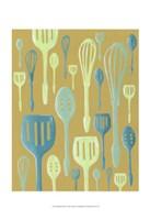Spring Cutlery I Framed Print