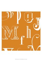 "Fun With Letters II by Vision Studio - 13"" x 19"", FulcrumGallery.com brand"