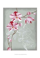 """Floral Echo I by Vanna Lam - 13"""" x 19"""""""