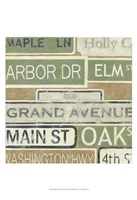 "Main Street USA I by Chariklia Zarris - 13"" x 19"", FulcrumGallery.com brand"