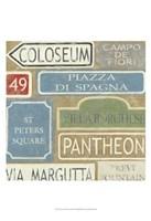 "Tour of Rome by Chariklia Zarris - 13"" x 19"""