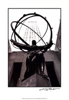 Atlas at Rockefeller Center Framed Print