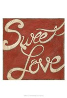 "Sweet Love by Chariklia Zarris - 13"" x 19"""