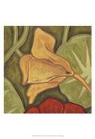 "Vibrant Rainforest II by Karen Deans - 13"" x 19"""