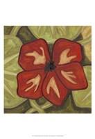 """Vibrant Rainforest III by Karen Deans - 13"""" x 19"""""""