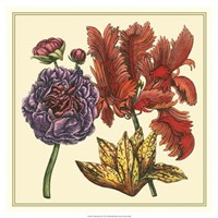 "Floral Spray III by Vision Studio - 19"" x 19"""
