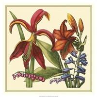 "Floral Spray IV by Vision Studio - 19"" x 19"""