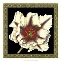 """Patterned Flowers III by Jennifer Goldberger - 19"""" x 19"""""""