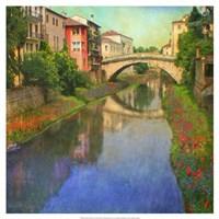 "Stream Bridge by Chris Vest - 19"" x 19"""