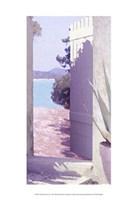 Coastal Doorway IV Fine Art Print