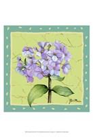 Whimsical Flowers III Fine Art Print