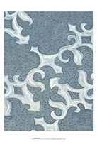 "Blue Ornament I by Karen Deans - 19"" x 19"", FulcrumGallery.com brand"
