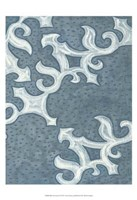 "Blue Ornament II by Karen Deans - 19"" x 19"", FulcrumGallery.com brand"