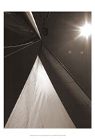 "Sail Geometry I by Noah Bay - 19"" x 19"""