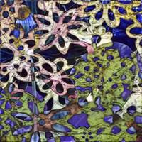 Bejeweled Woodblock III Fine Art Print