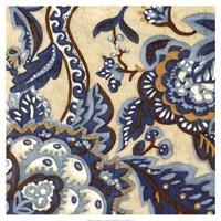 Custom Indigo Tapestry II Fine Art Print