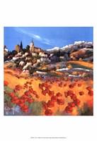 Le village Fine Art Print