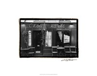"Cafe Charm, Paris V by Laura Denardo - 24"" x 19"""