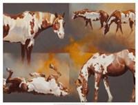 """Coats of Paint by Julie Chapman - 25"""" x 19"""""""