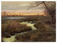 "Elk & Creek by Chris Vest - 25"" x 19"""