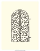 "B&W Wrought Iron Gate VII - 16"" x 20"" - $15.49"