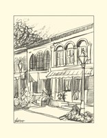 B&W Sketches of Downtown V by Ethan Harper - various sizes