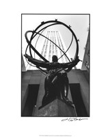 Atlas at Rockefeller Center Fine Art Print
