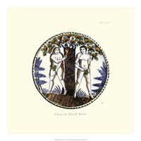 English Delft Dish Fine Art Print
