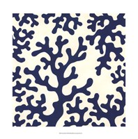 "Ocean Motifs I by June Erica Vess - 22"" x 22"""