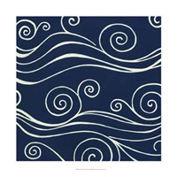 Ocean Motifs III Framed Print