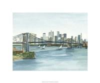"""Plein Air Cityscape I by Ethan Harper - 20"""" x 20"""""""