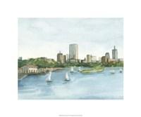 """Plein Air Cityscape II by Ethan Harper - 20"""" x 20"""""""