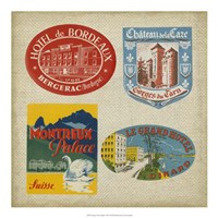 """Vintage Travel Collage I by Vision Studio - 20"""" x 20"""""""