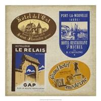 "Vintage Travel Collage II by Vision Studio - 20"" x 20"""