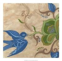 Songbird Fresco I Framed Print